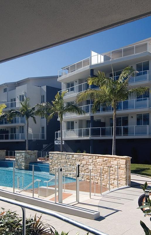 aqua apartments project